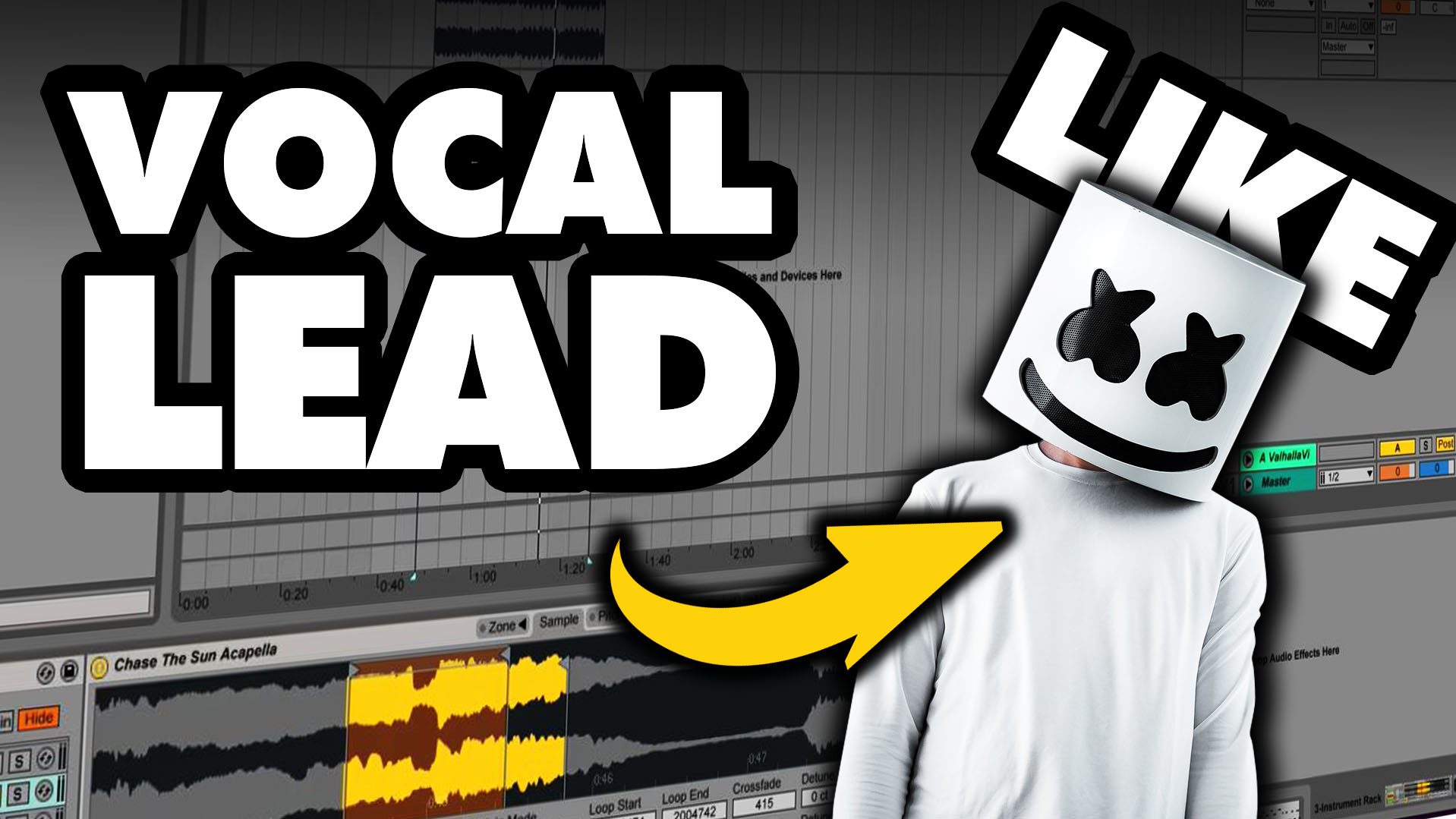 Make MARSHMELLO Style Vocal Chops Lead! | W  A  Production