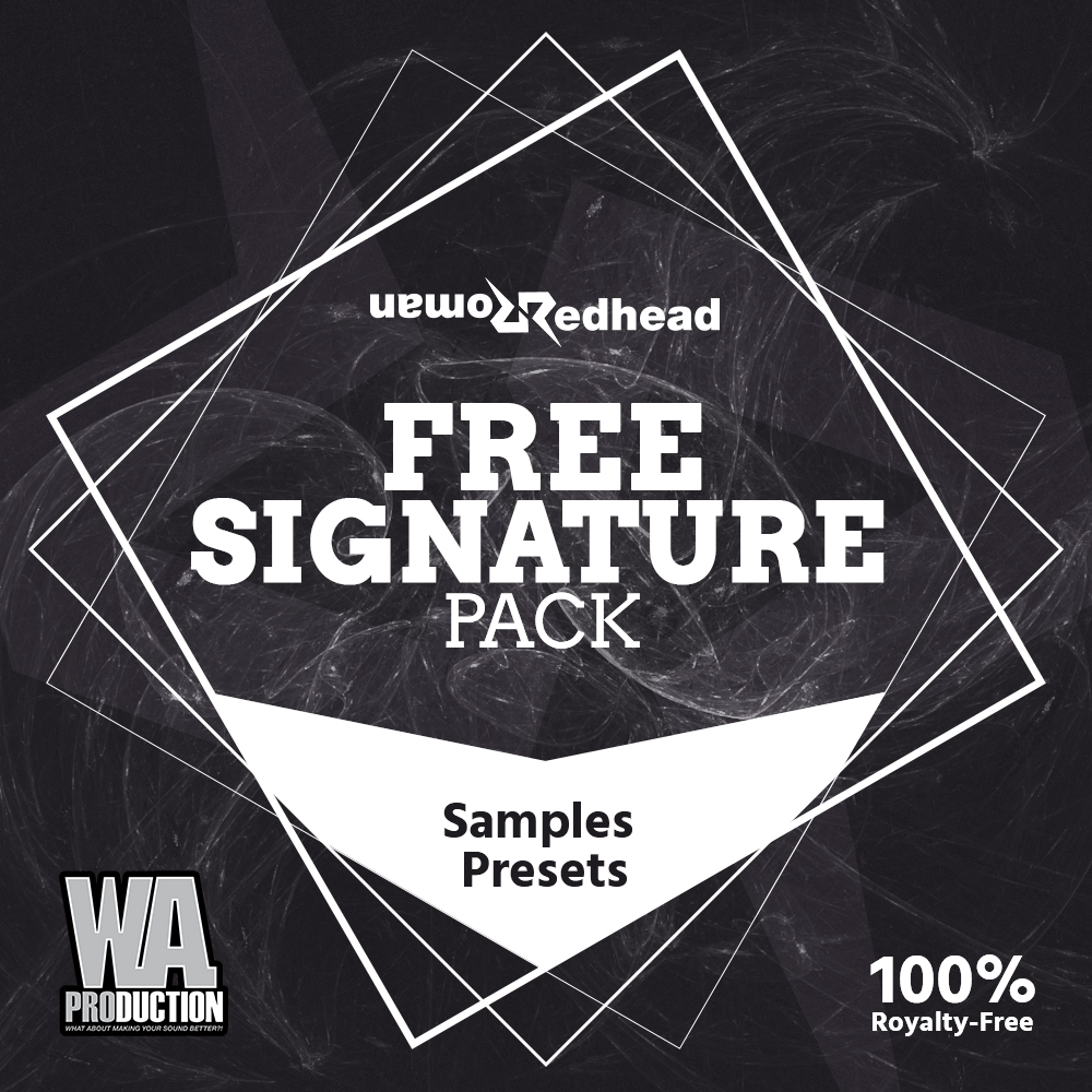 Free Signature Pack | W  A  Production