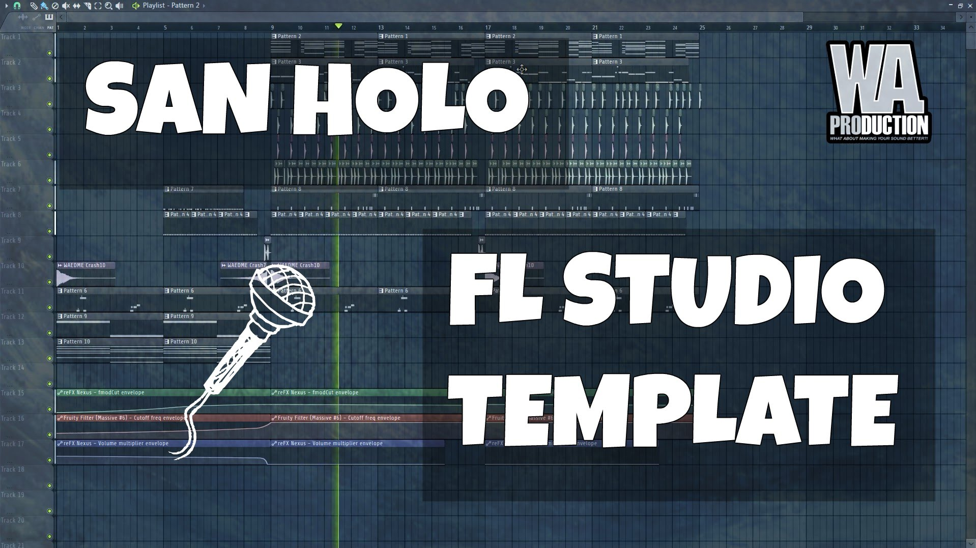 Fl Studio Template 9 Future B Chillstep Trap San Holo Type W A Production