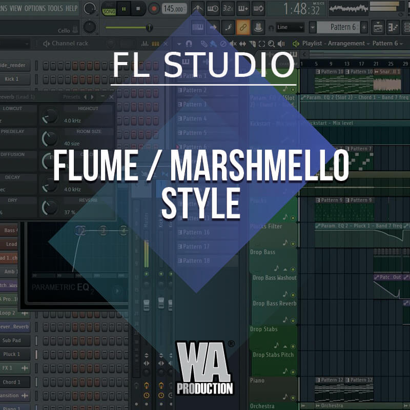 Free FLP 14: Future Bass / Flume Style | W  A  Production